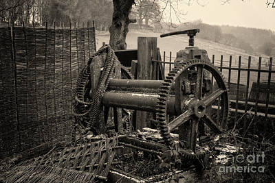 Photograph - Farm Equipment Art by Doc Braham