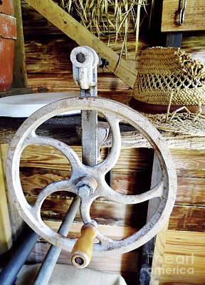 Photograph - Farm Equipment Corn Sheller by D Hackett