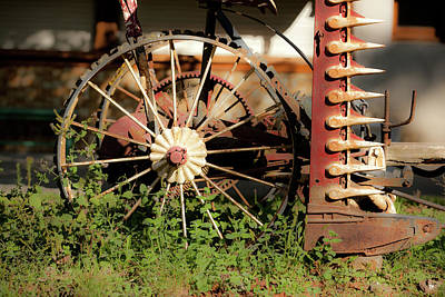 Photograph - Farm Equipment by John Magyar Photography