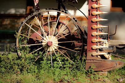Photograph - Farm Equipment by John Magyar Photography