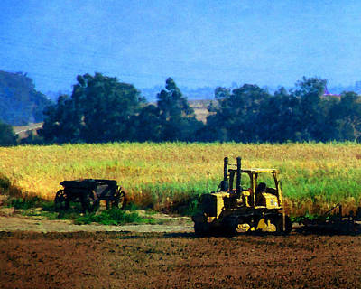 Photograph - Farm Equipment by Timothy Bulone