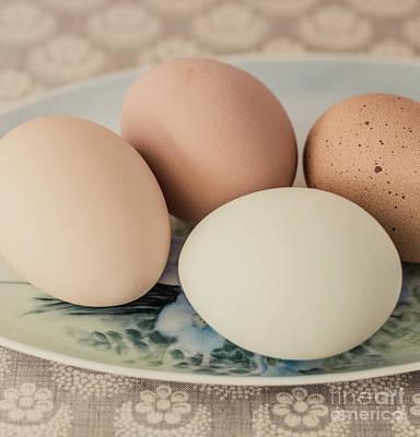 Photograph - Farm Fresh Eggs by Cathie Richardson