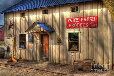 Metamora Photograph - Farm Fresh Produce by Mel Steinhauer