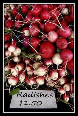 Photograph - Farm Fresh Radishes by Chris Berry