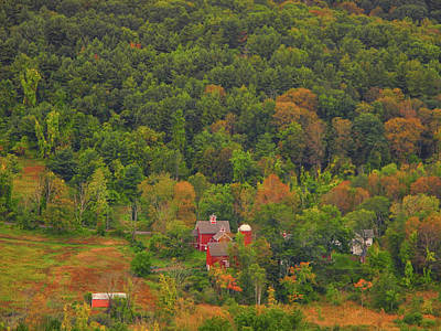 Photograph - Farm From The Connecticut Appalachian Trail by Raymond Salani III