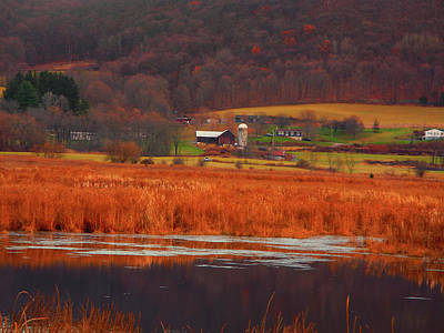 Photograph - Farm From Wallkill River National Wildlife Refuge by Raymond Salani III