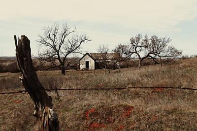 Photograph - Farm House, Abandoned by Gina  Zhidov