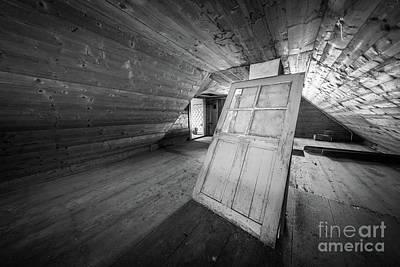 Attic Wall Art - Photograph - Farm House Attic by Inge Johnsson