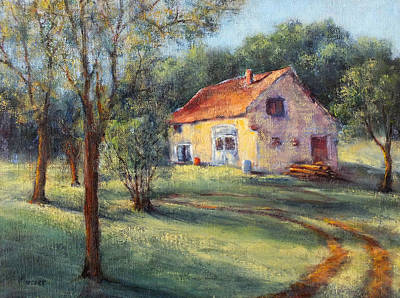 Painting - Farm House Champthibaut by Jill Musser
