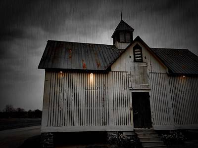 Photograph - Farm House by Chris Montcalmo