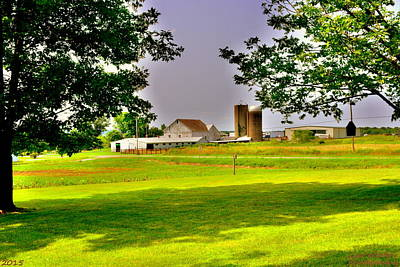 Photograph - Farm House H D R  by Lisa Wooten