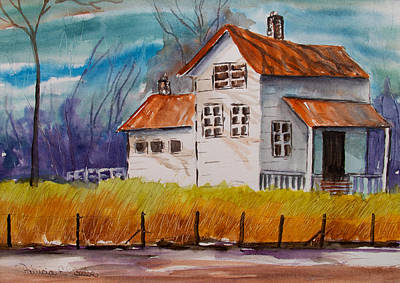 Painting - Farm House by Patricia Beebe