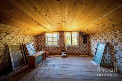 Farm House Room Art Print by Inge Johnsson