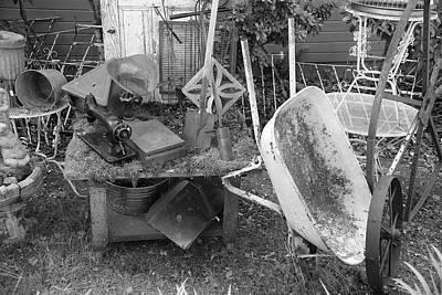 Photograph - Farm House Tools 2 by Richard J Cassato
