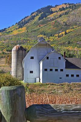 Fall Photograph - Farm In Autumn Colors by Brett Pelletier