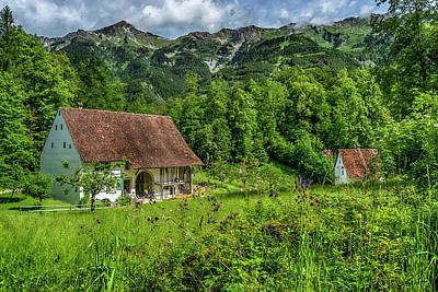 Photograph - Farm In Ballenberg Switzerland_dsc8241_16 by Greg Kluempers