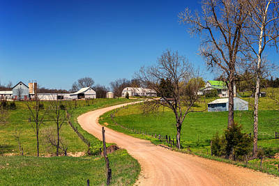 Photograph - Farm In Gasconade County Mo_dsc4116 by Greg Kluempers
