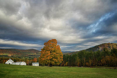 Photograph - Farm In The Mountains by Darylann Leonard Photography