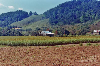 Photograph - Farm In The Smoky Mountains by D Hackett