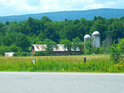 Photograph - Farm In Ticonderoga New York by Catherine Gagne