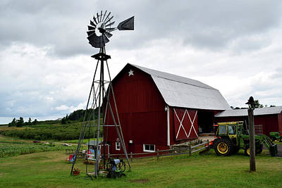 Photograph - Farm In Traverse City Mi by Diane Lent