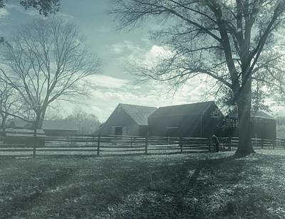Photograph - Farm Landscape by Angie Tirado