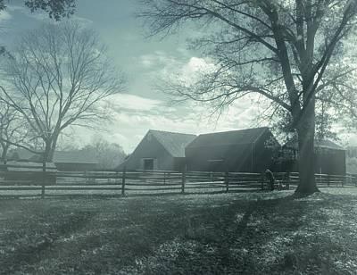 Photograph - Farm Landscape by Angie Tirado
