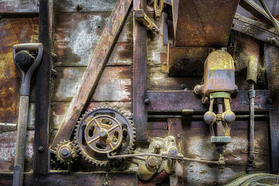 Photograph - Farm Machinery by James Barber