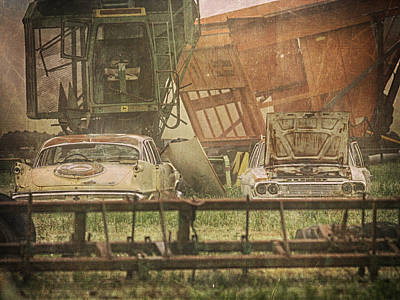 Photograph - Farm Machines by Charles McKelroy