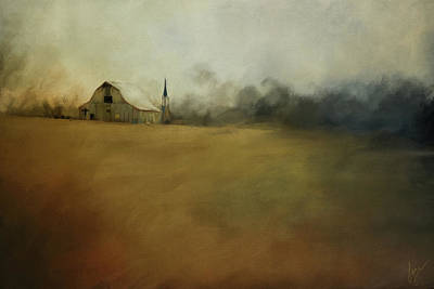 Painting - Farm Memories by Jai Johnson