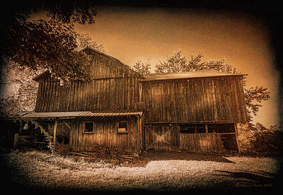Farm Memories Art Print by Marvin Spates