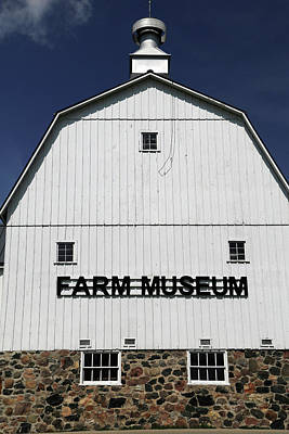 Photograph - Farm Museum Goodells by Mary Bedy