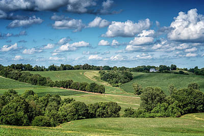 Photograph - Farm Near Brussels Il 7r2_dsc9833_07012017 by Greg Kluempers