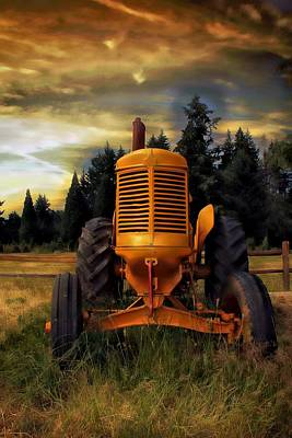 Photograph - Farm On by Aaron Berg