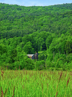 Photograph - Farm On The Hillside  by Raymond Salani III
