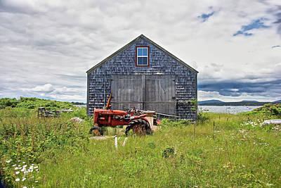 Photograph - Farm On The Sea  by Lise Winne