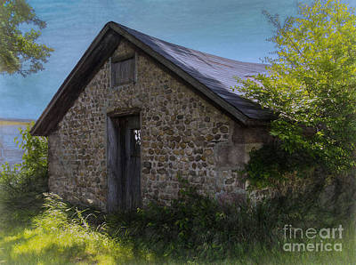 Photograph - Farm Outbuilding by JRP Photography