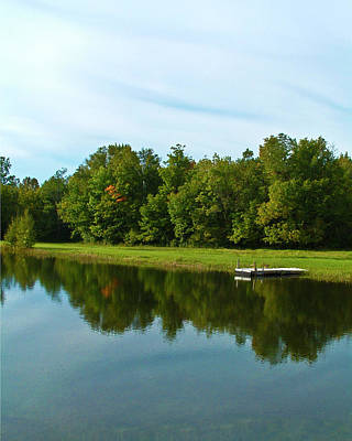 Photograph - Farm Pond by Bill Barber