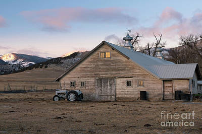 Photograph - Farm Reflections by Idaho Scenic Images Linda Lantzy