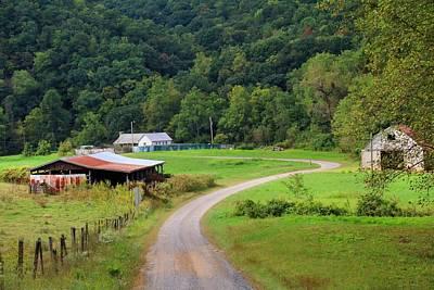 Photograph - Farm Road by Kathryn Meyer