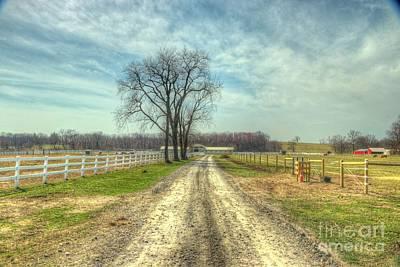 Photograph - Farm Road by Scott Harrison