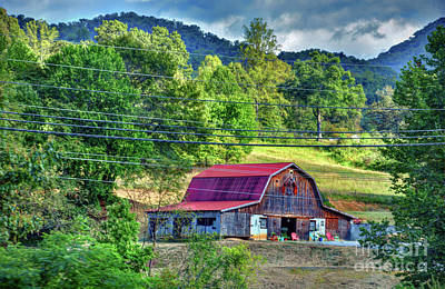 Photograph - Farm by Savannah Gibbs