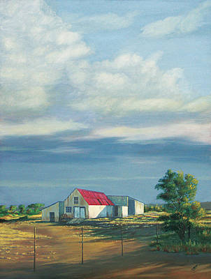 Painting - Farm Shed by Deon West