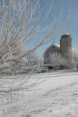 Photograph - Farm Silo by David Bearden
