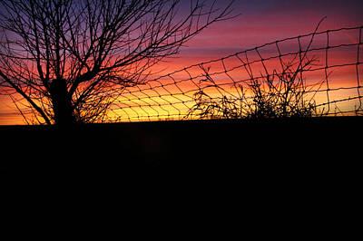 Photograph - Farm Sunrise by Kathy M Krause