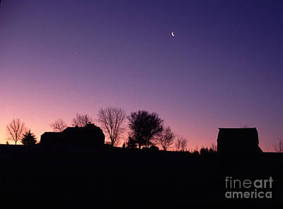 Farm Sunrise Art Print