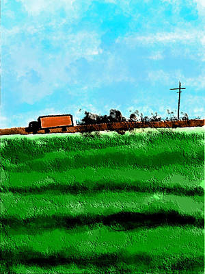 Painting - Farm To Market by Bill Owen
