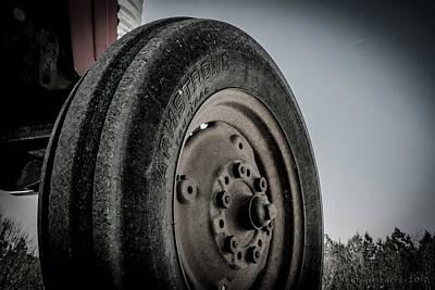 Photograph - Farm Tractor Tire by Henri Irizarri