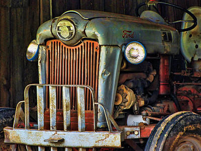 Photograph - Farm Tractor Two by Ann Bridges