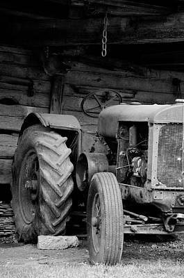 Photograph - Farm Tractor by Wilma  Birdwell